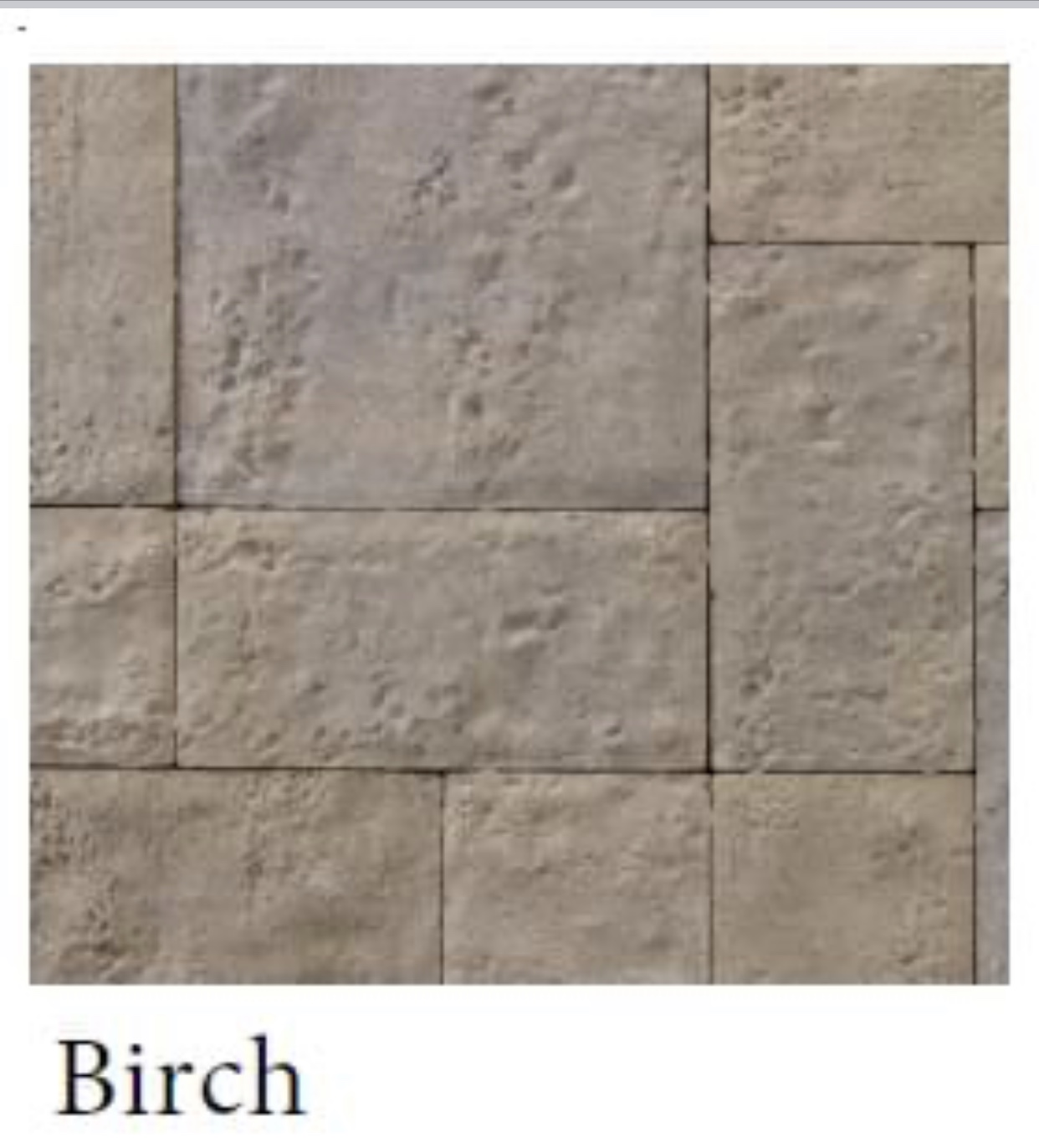 Birch Travertine