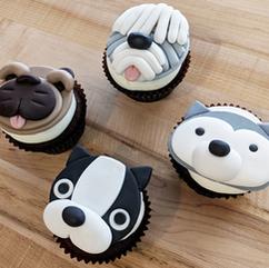 Dog cupcake class