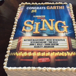 Sing Movie Premiere Edible Print