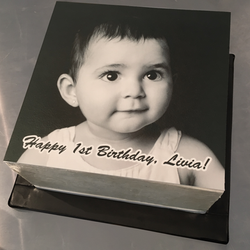 Baby Livia Edible Print