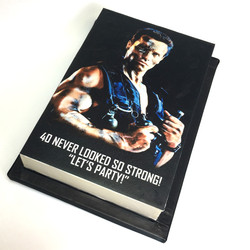 Arnold Commando edible print c