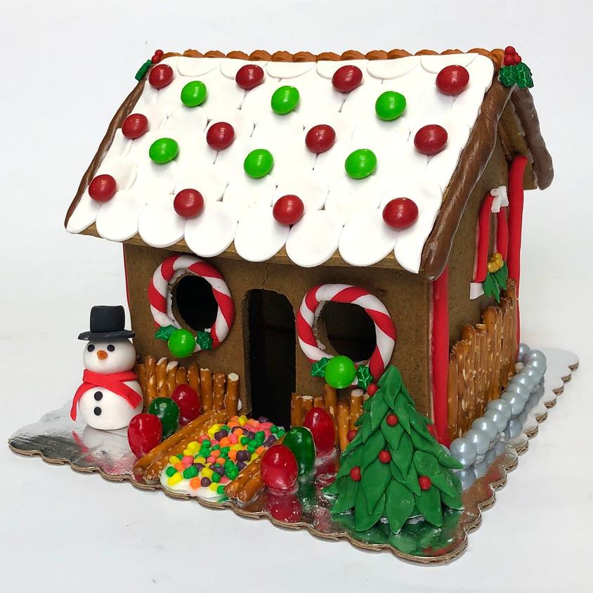 Christmas Gingerbread House Class Dec 14, 2019