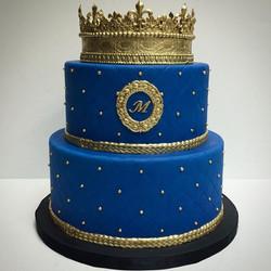 Signature Blue Prince Cake