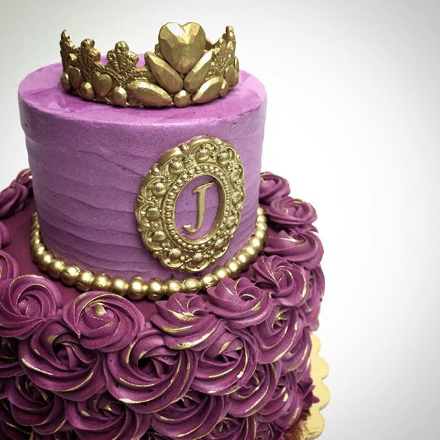 Signature Purple Princess Cake