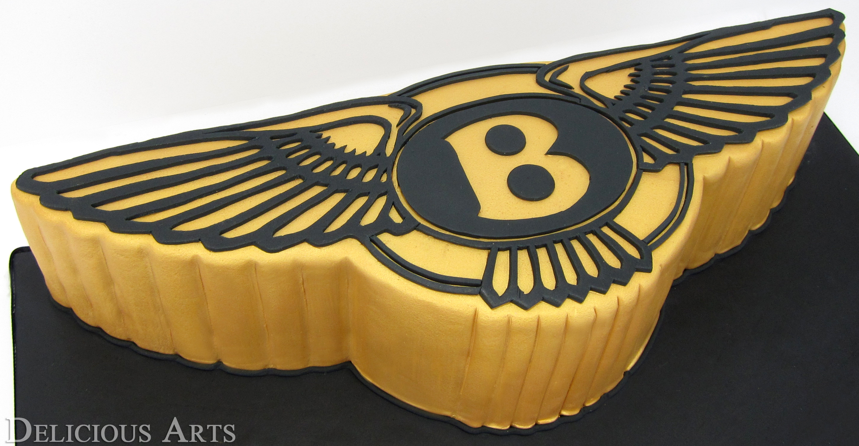Semi-Sculpted Bentley Cake