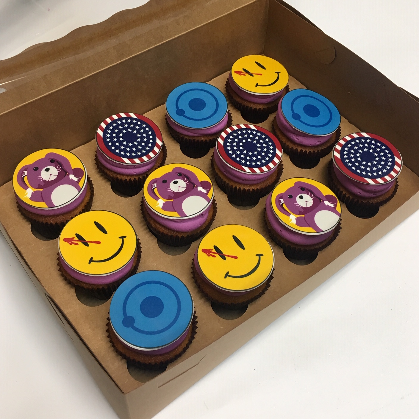 The Watchmen Cupcakes