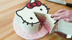 Hellokitty explosion cake
