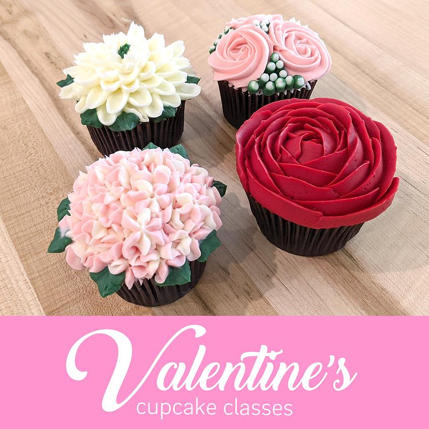 Valentine's Cupcake Class Feb 7, 2020 - $55