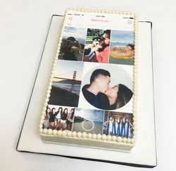 Memories Edible Print Cake