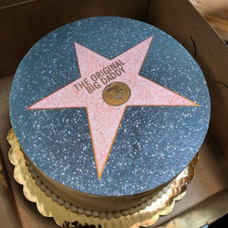 Hollywood Walk of Fame Edible Print