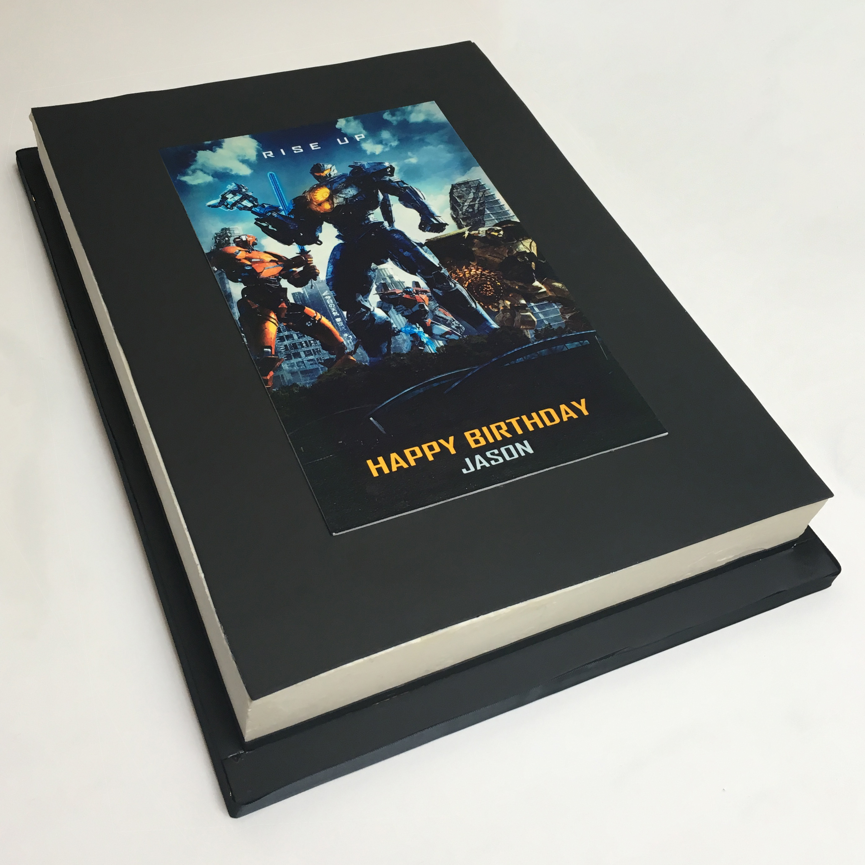 Pacific Rim Edible Print Cake