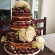 Semi-Naked Cake By Delicious Arts