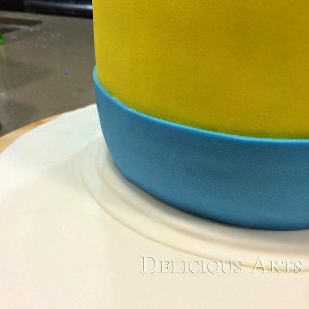 Minion Cake Tutorial Custom Cakes By Delicious Arts Los Angeles