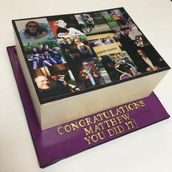 Matthew's Edible Print Cake