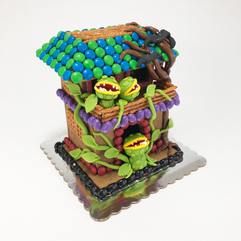 Intermediate Haunted Gingerbread House