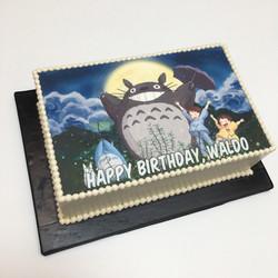 Totoro Edible Print
