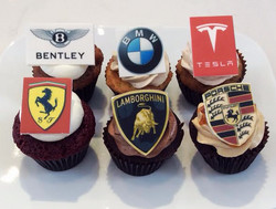 Brand Name Cupcakes With Edible Topp