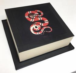 Gucci Snake Edible Print