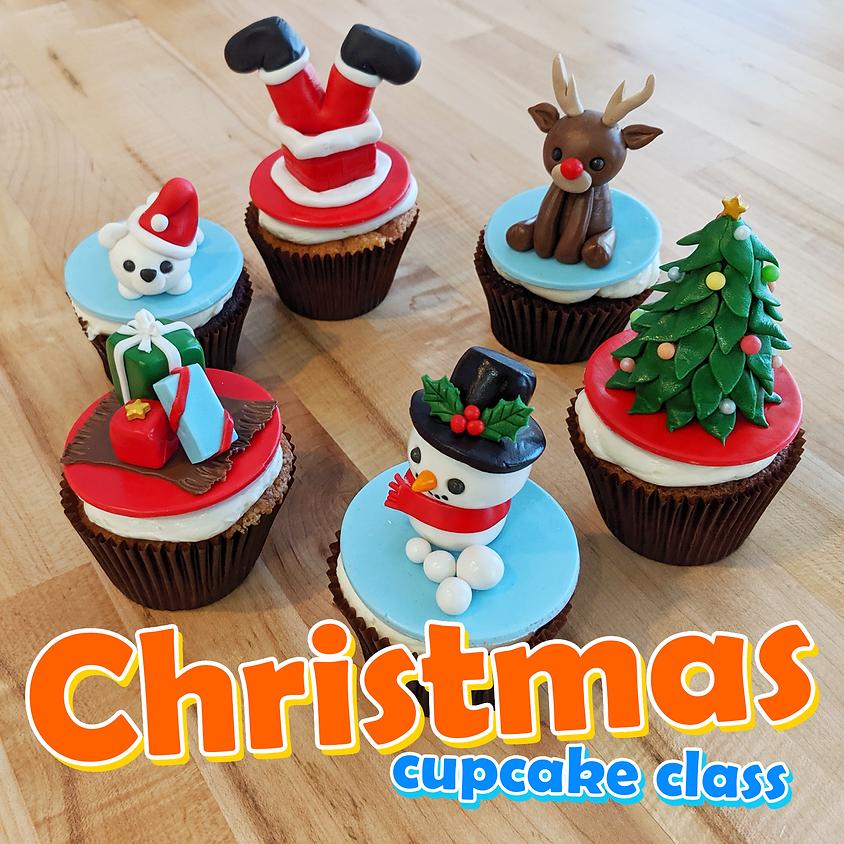 Christmas Cupcake Class Dec 21, 2019