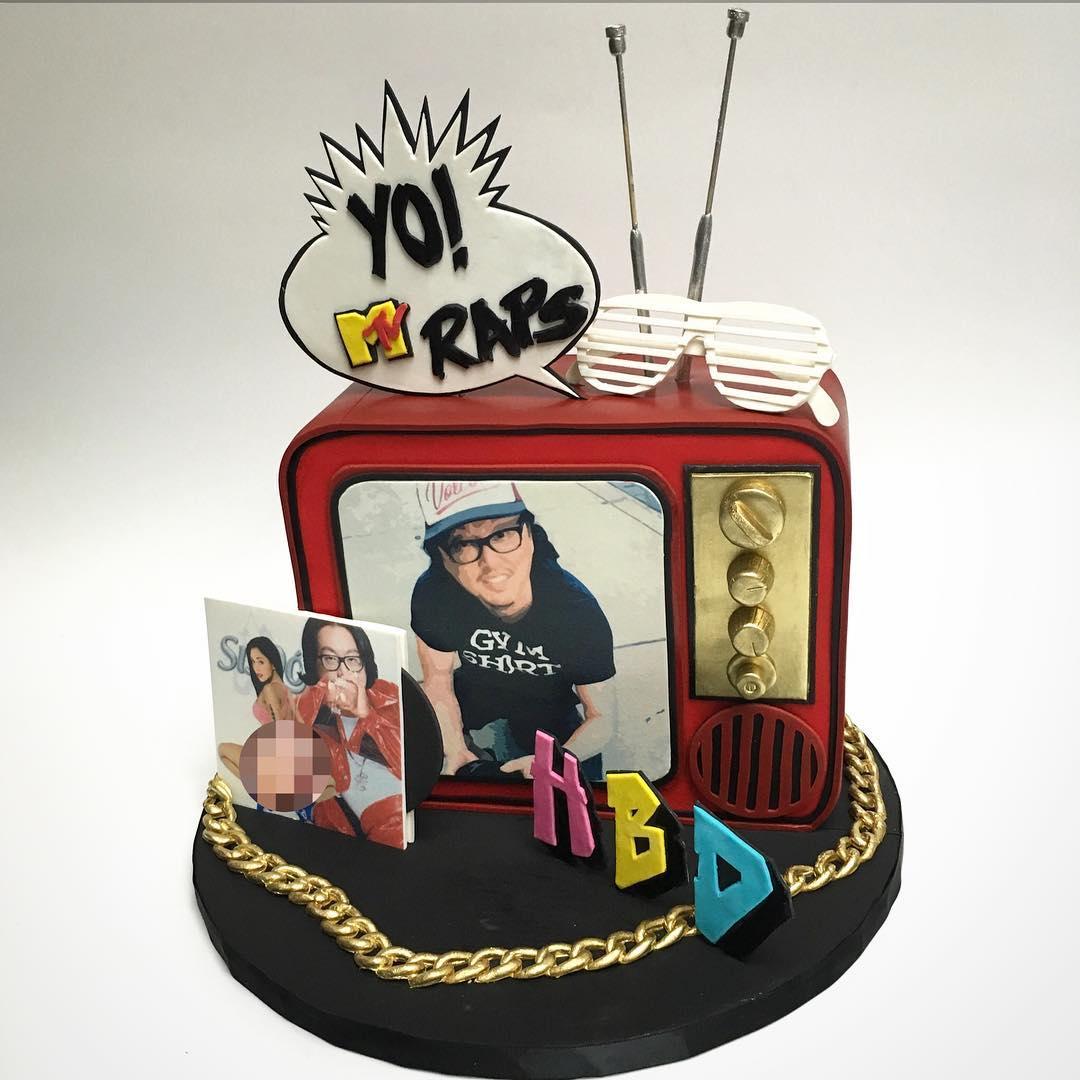 MTV Cake for Joseph Kahn