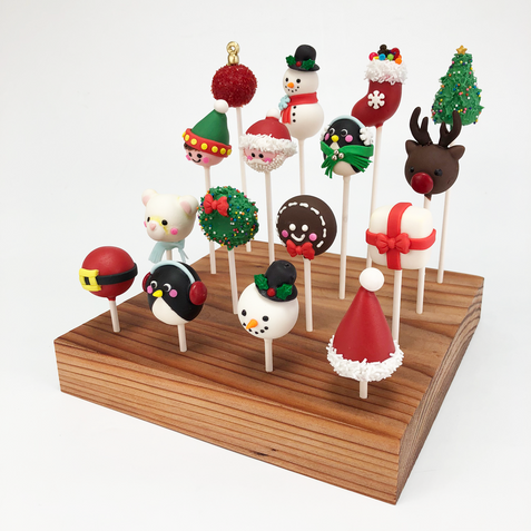 Christamas Cake Pops