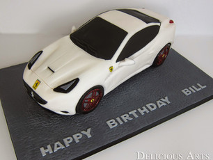 Ferrari California Cake Tutorial