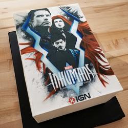 Inhumans Premiere Cake