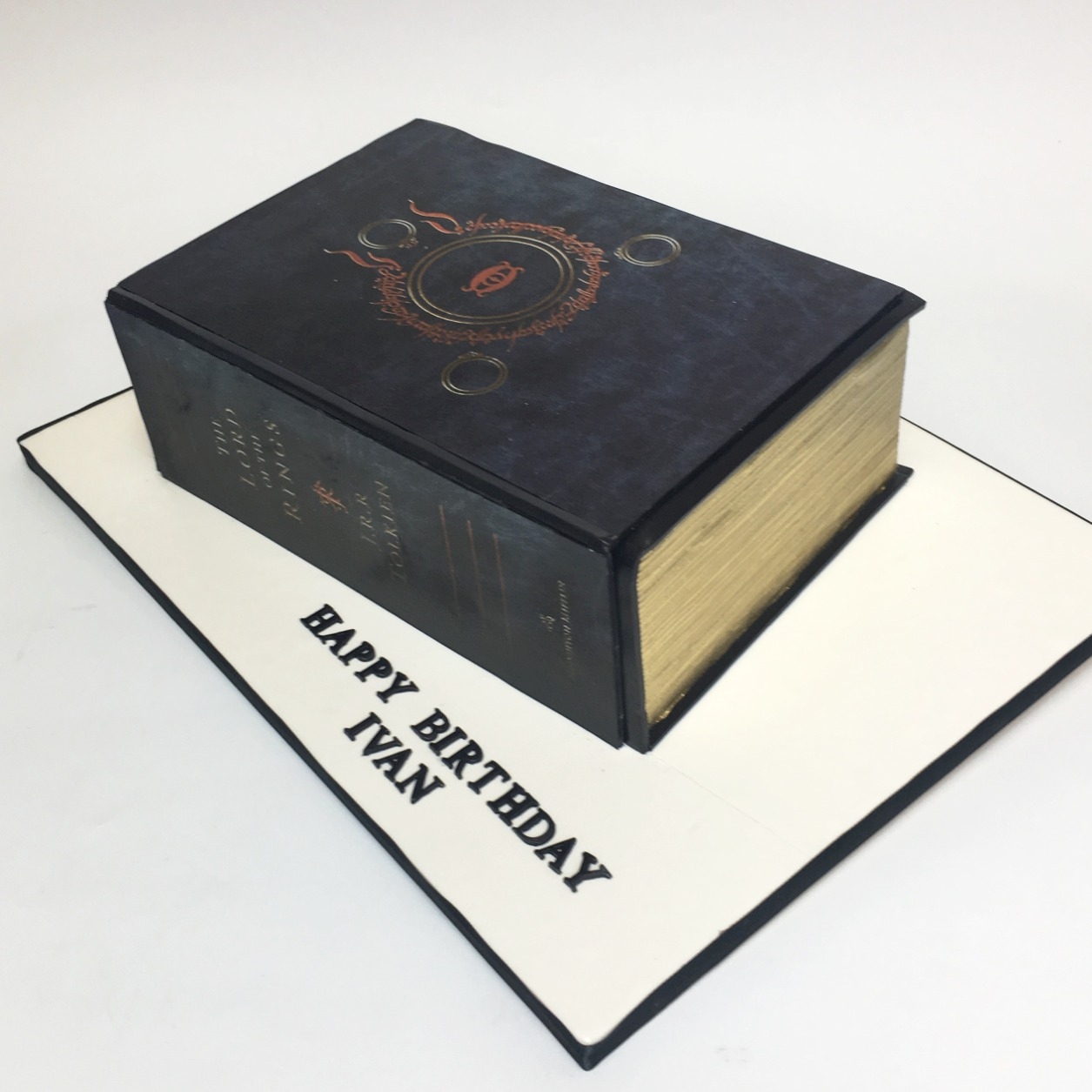 Lord of Ring Book Cake