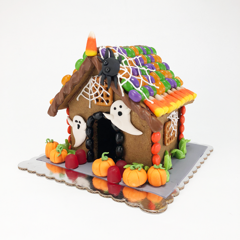 Beginner Haunted Gingerbread House