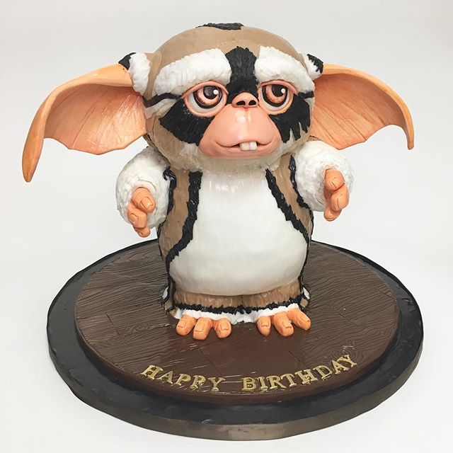 3D Sculpted Mogwai cake