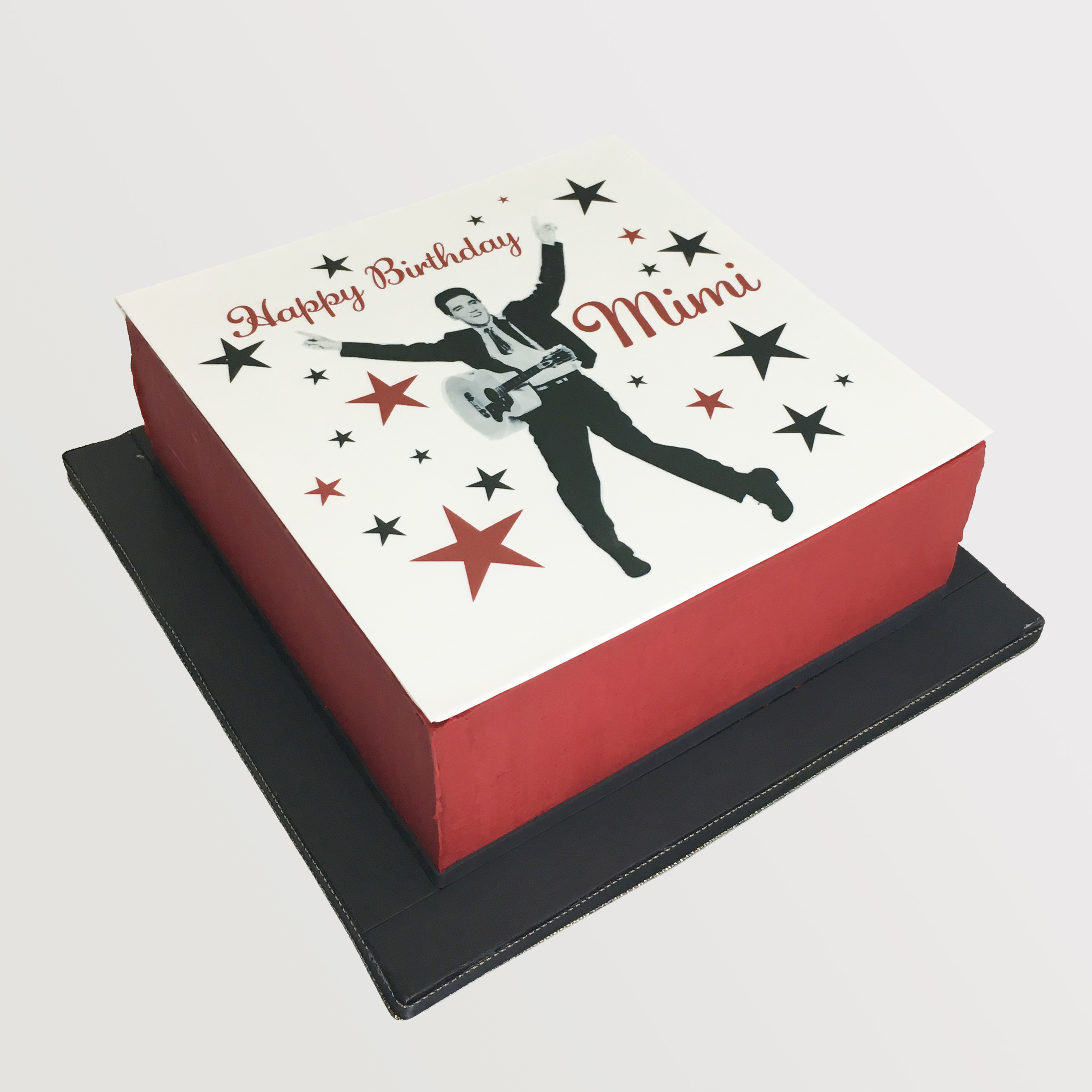 Elvis Edible Print Cake