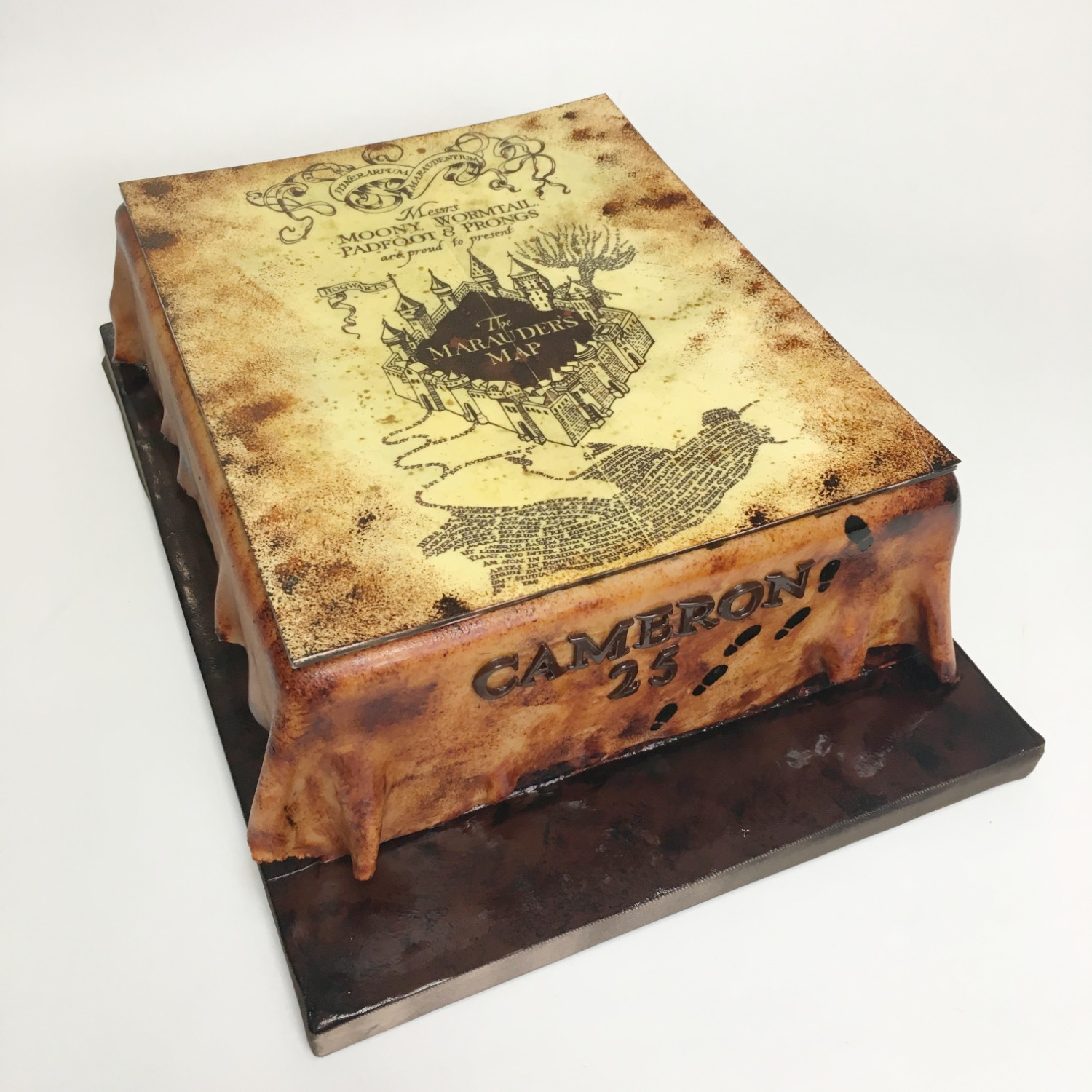 Marauder's map edible print