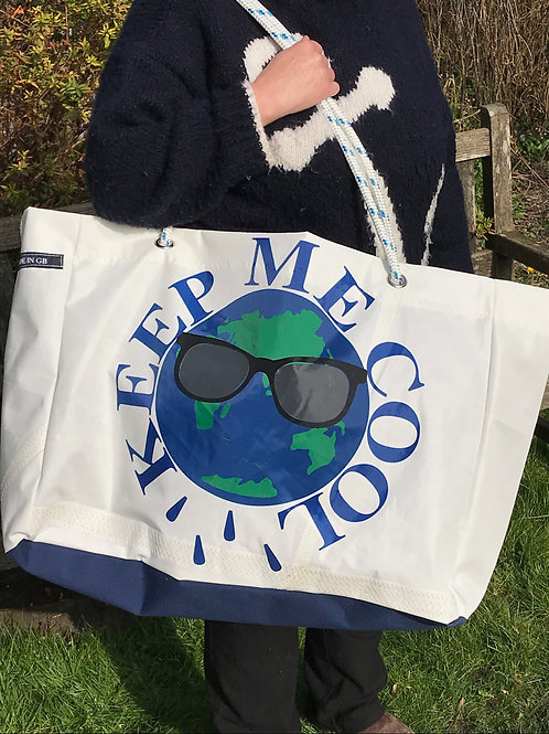 Limited Edition Large Beach Bag - Keep Me Cool