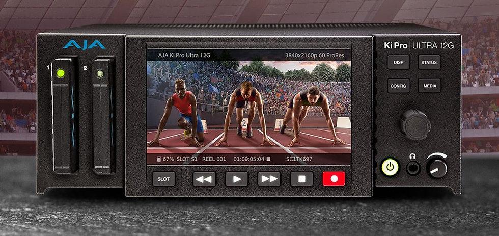 AJA Ki Pro Ultra 12G 錄影及播放機