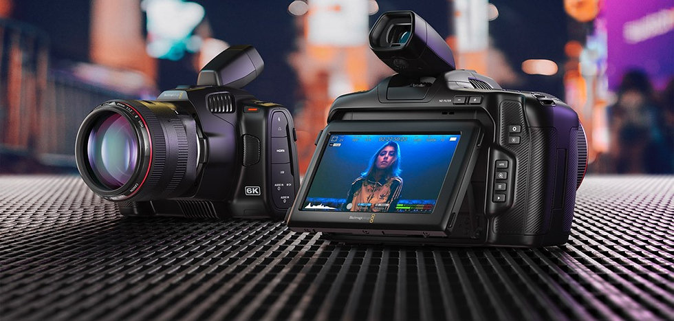 Blackmagic Pocket Cinema Camera 6K Pro 口袋電影攝影機