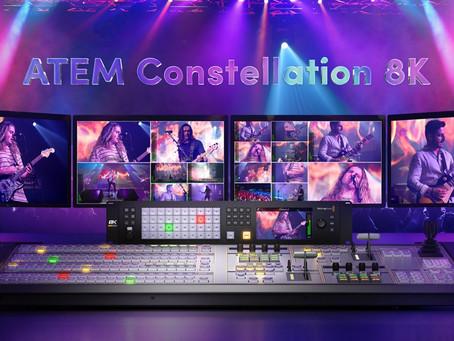 Blackmagic ATEM Constellation 8K 導播機