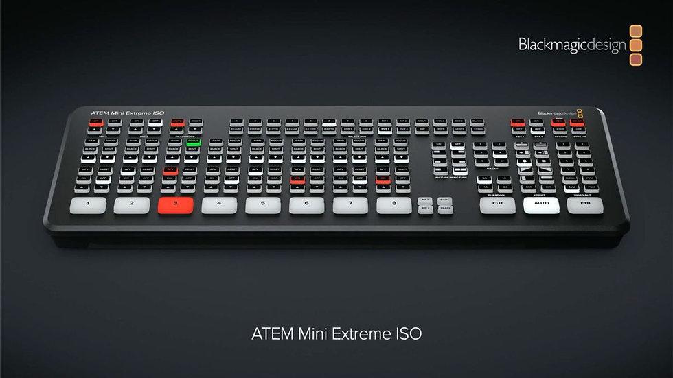 ATEM Mini Extreme ISO 導播機