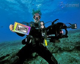 DSC Labs 便攜型 CamAlign 圖卡 Splash - 水下攝影專用