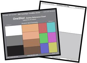 DSC One Shot 攜帶型色彩校正圖卡