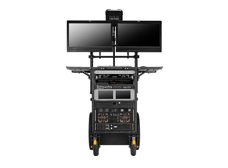 INOVATIV Deploy 第四代內建螢幕架工作車