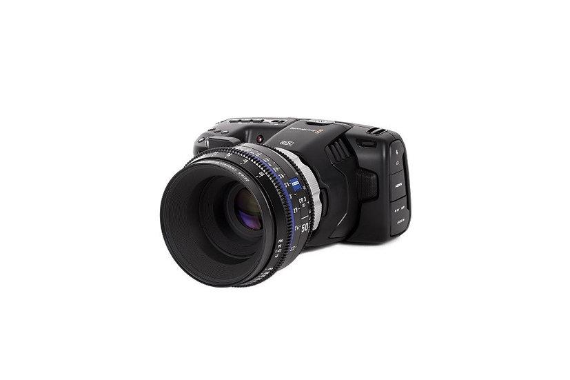 Blackmagic Pocket Cinema Camera 6K PL 接環改裝套件