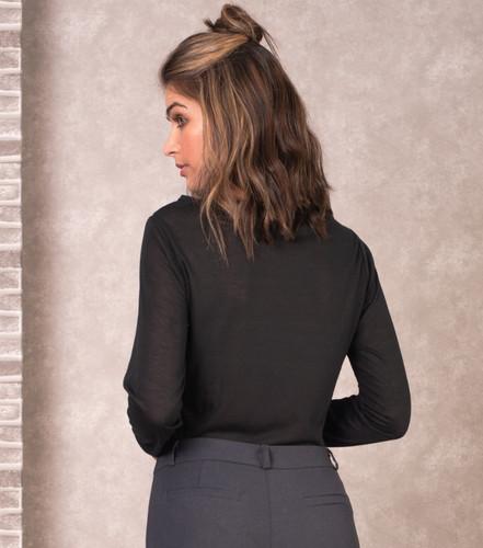 8b908641c737 Blusa de Malha com Estampa de Estrela