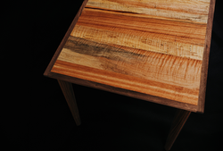 Spalted Pecan and Walnut Dining Table