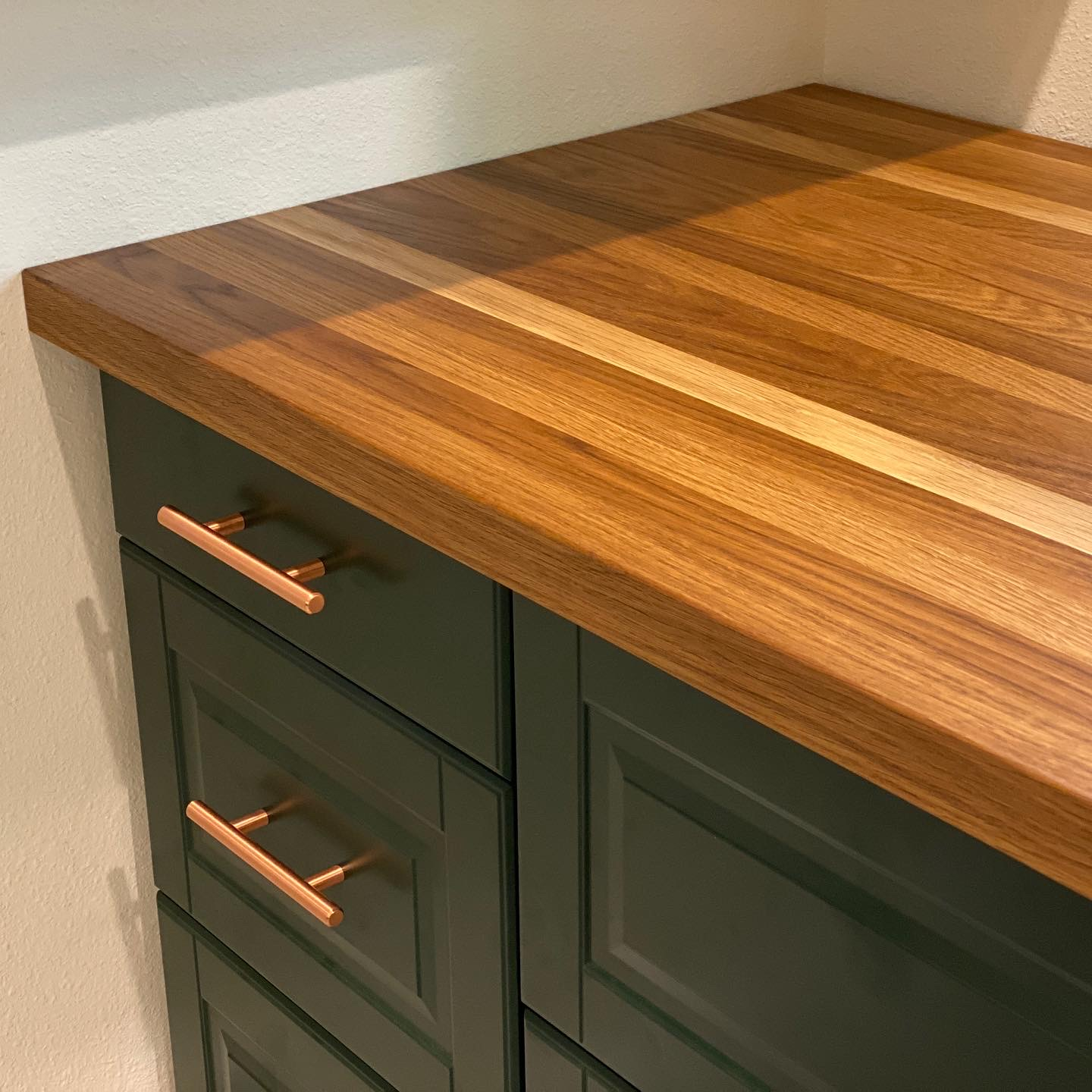 White Oak Butcher Block Counter Top