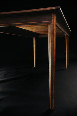 Pecan and Walnut Dining Table
