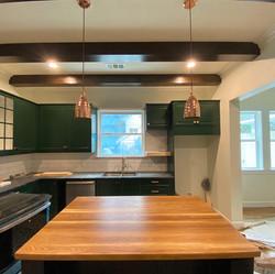 White Oak Butcher Block Kitchen Island