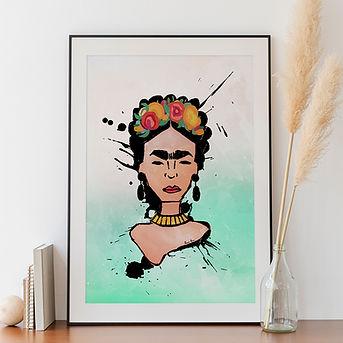 deenasavva_frida_kahlo_frames_posters_de