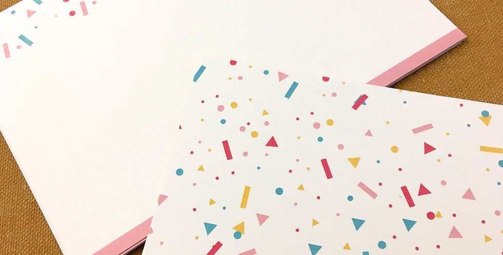 Geometrical Confetti