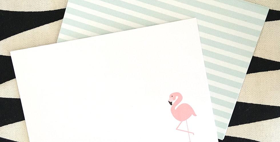 Flamingo Stripes