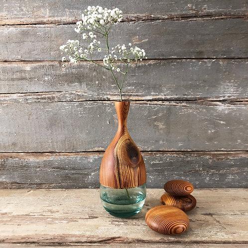 vaso duo em pinho de riga